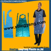 Alibaba wholesale polyester Apron Plastic Polyethylene LDPE HDPE disposable aprons medical/surgical/cleaning pe apron