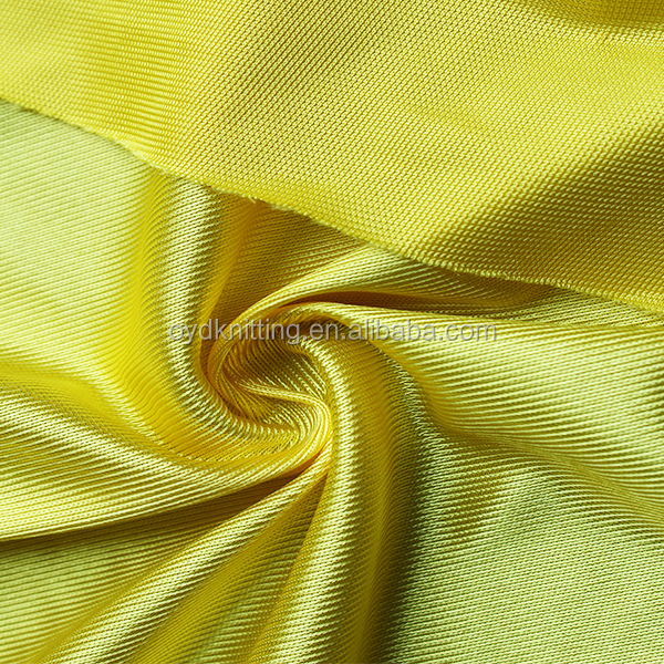 100% Polyester College Graduate Gown Tricot Dazzle Fabric for Garment