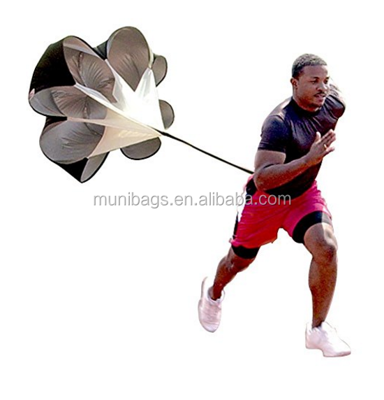Speed Drills Resistance Parachute Umbrella Running Chute & Fitness Explosive Power Soccer Football Sport Speed Training - 56 inc