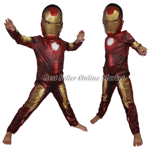New Arrival Halloween Costumes Male Boy Iron Men Cosplay Christmas Clothing Metal Robot Clothes Children Kids  sc 1 st  Alibaba & Cheap Robot Costumes For Kids find Robot Costumes For Kids deals on ...