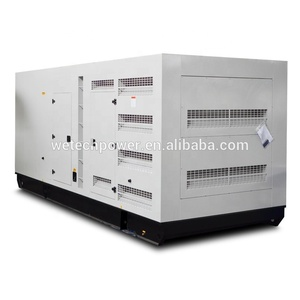 Soundproof 800kw diesel generator set 1000kva power plant with Cummin engine KTA38-G2A Made in China Taizhou City