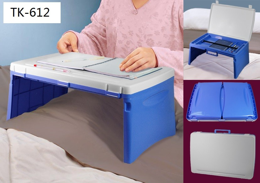 Folding Laptop Table Desk Support Stand Desk Bed Sofa