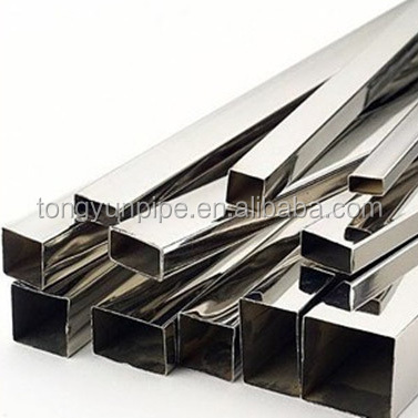 gi square pipe ms square tube price list / SHS steel pipe for building materials