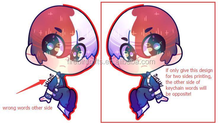 corte transparente personalizado laser impresso japão anime brilho acrílico encantos
