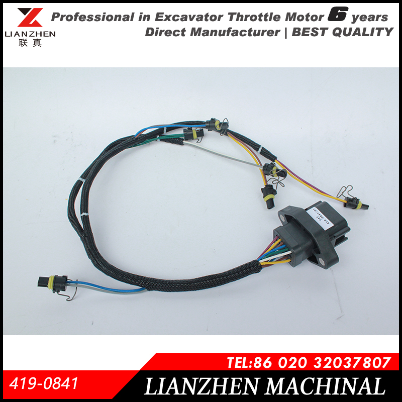 Excavator Parts E330d,E336d Ignition Wire Harness Wiring Harness For ...