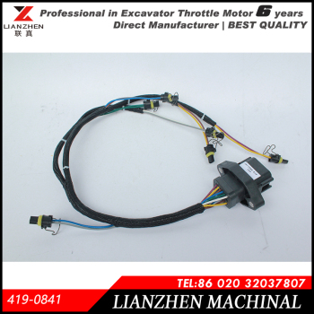excavator parts e330d,e336d ignition wire harness wiring harness for