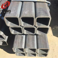 Manufacturer supply seamless hollow section ms rectangular profile steel pipe