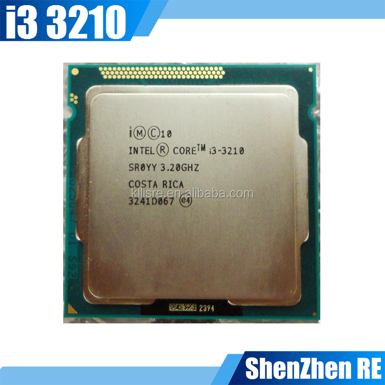 Core i3 3210 Dual Core Processor 3.2Ghz Socket LGA 1155 Desktop CPU