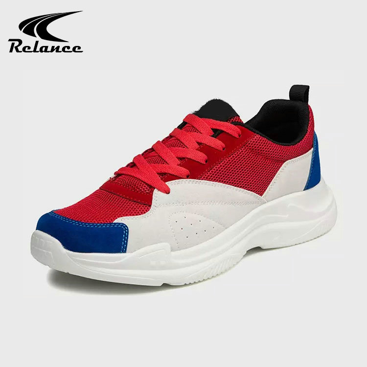 Sport Shoes Men Breathable Running Suppliers Suede Upper PU Mesh China pq4axPgwp