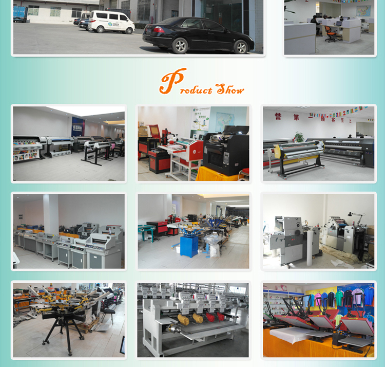 High precision 6 color textile screen printer