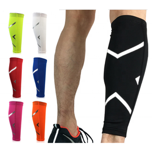 Compression Running Leg Sleeves Sports Protector Calf Brace For Fitness Workout