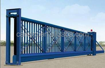electric aluminum alloy trackless suspended gate L1504