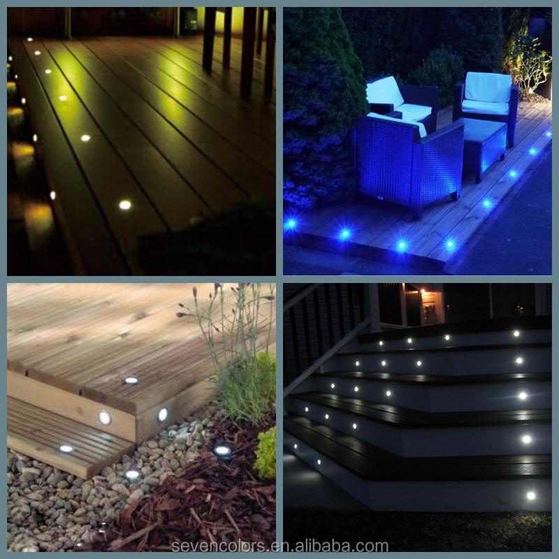 IP67 Waterproof Outdoor Garden Lighting Led Ground Light 12V 0.3W (SC F102A)