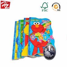 OEM custom embossed board book printing shenzhen with FSC certificate