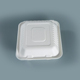 bagasse sugarcane carry meal biodegradable take away food box with compartment