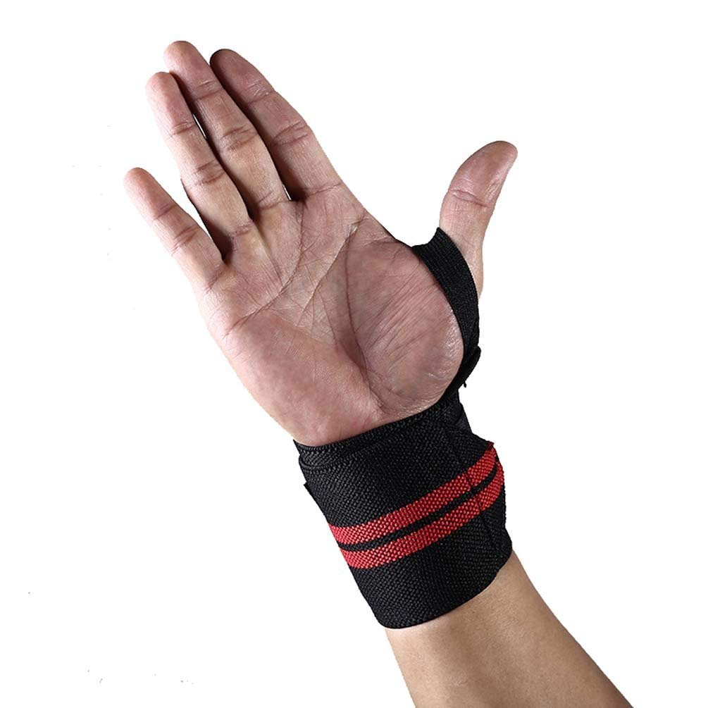 51f1e33f71fa Get Quotations · UHHAN 2Pcs Wrist Brace Support Sports Gear Unisex for  Weight Lifting,Gym Workouts,Strength