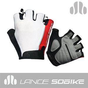 Sobike 2013 Sublimated Cycling Half Finger Gloves for Ciclismo Hurricane