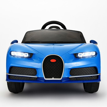 bugatti 12v kids electric sports car toy for 1-8 years with remote