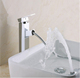 bathroom swivel extended basin mixer taps