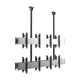 VCM-D4 Multi-screen 2X2 Video TV Wall Ceiling Mount With Fixed Bracket Arms