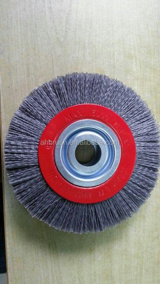 Custom Abrasive Nylon Disc Brush 65