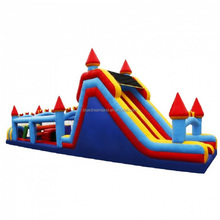 Multifunctional deluxe interactive inflatable obstacle course event party