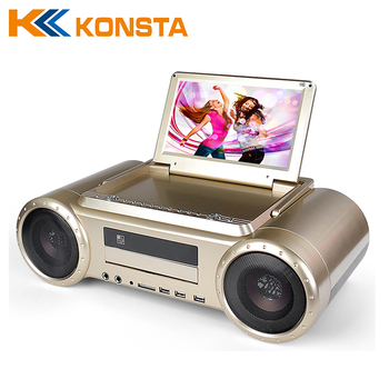 Wholesale factory price custom portable dvd player with usb