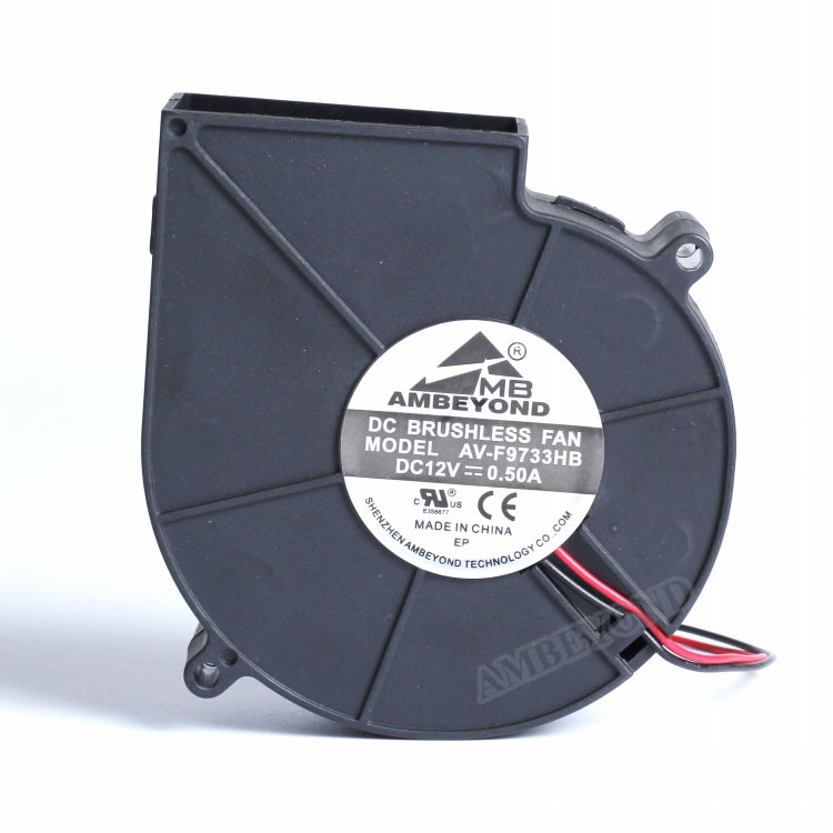 Dc Mini Ventilation Fan 97x94x33mm 9733 Centrifugal Fan 24 Volts ...
