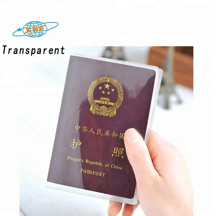 Card Holder & Note Holder Office & School Supplies Promotion Pvc Passport Cover Transparent Passport Cover Case Clear Waterproof Travel Document Bag Passport Holder 1 Pc Rich And Magnificent