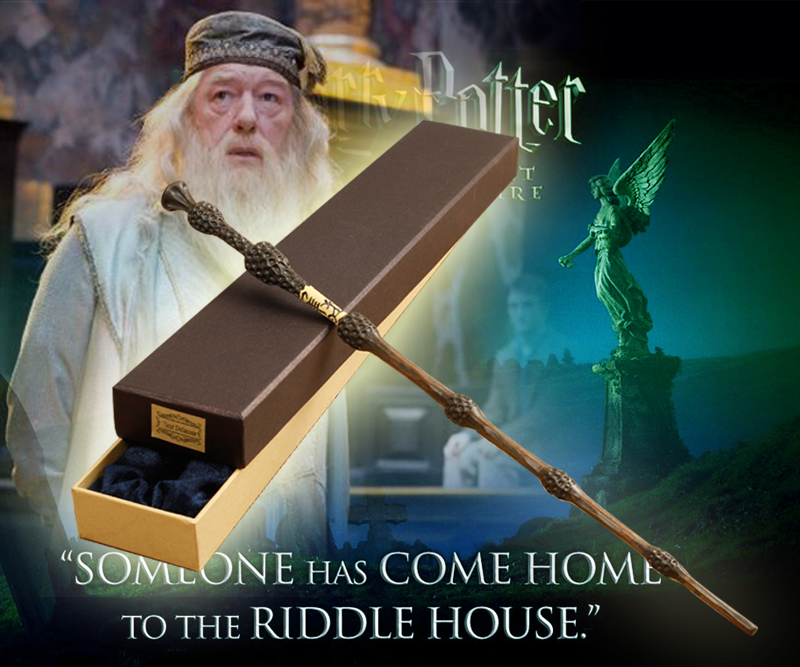 2016 With Iron Core New Quality Deluxe COS Albus Dumbledore Magic Wand of Harry Potter Magical