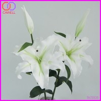 PU real touch artificial flower lily