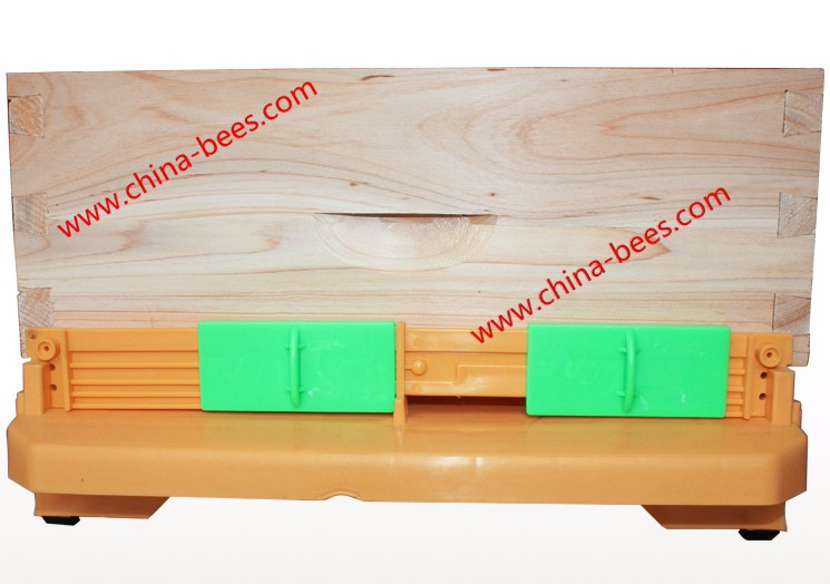 Plastic Beehive Bee Hive Base Beekeeping Equipment china supplier