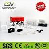 free samples CSV PE white black cable clip and tape(3mm to 40mm)