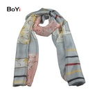 The Latest Design Woven Digital Printed Scarf For Women With A Silk Feel