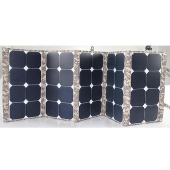 2018 Hot selling 130W portable pv solar panel for outdoor activity with laptop
