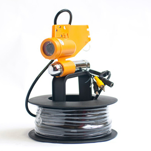 Fish Finder Color CCD Underwater Fishing Camer With 20M Cable