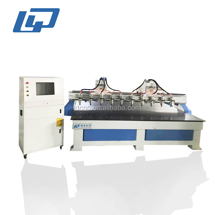 multi-heads engraving cnc router machine price/router cnc engraving machinery with rotary