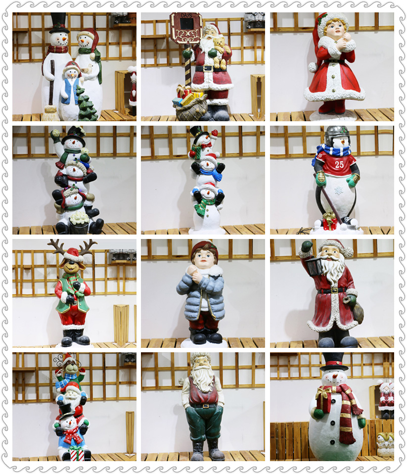 Lovely children statues best selling christmas items for outdoor christmas decorations