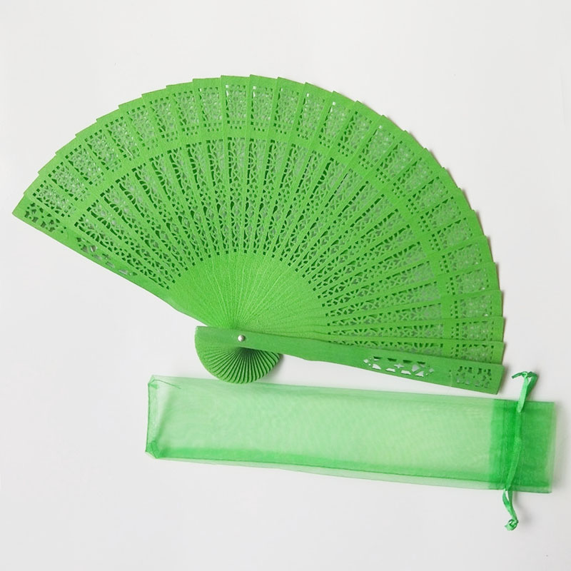 [i Am Your Fans]sufficient Stock! <strong>Wood</strong> 15colors For Choice Custom Folding Wooden With Organza Pouch Packing Bamboo Kung Fu Fan