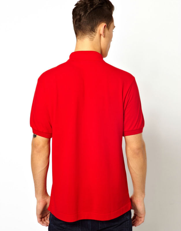 Men Plain Red Polo Shirts Cheap For Wholesale Buy Red