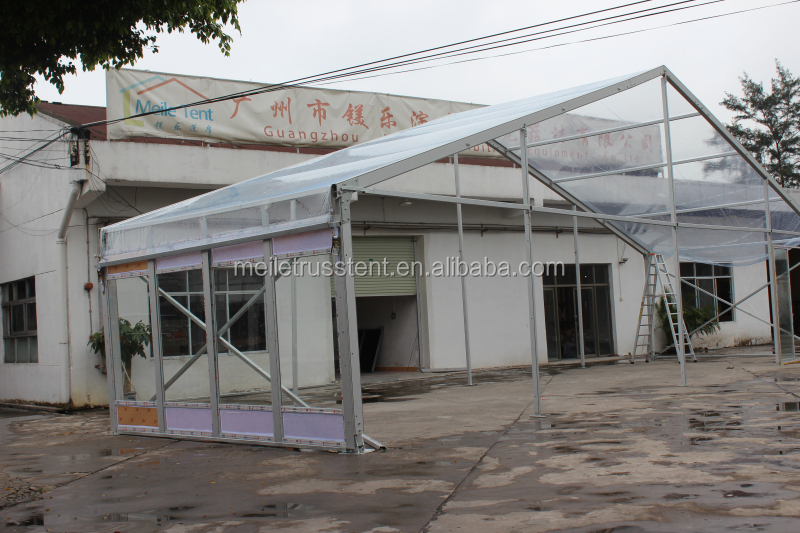 12m Span Frame Tent Clear Roof Fusion Marquee Price(gz Manufacturer ...