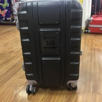 Strong ABS aluminum frame travel luggage 3pcs hot sale trolley case vantage suitcase 8# zipper luggage case