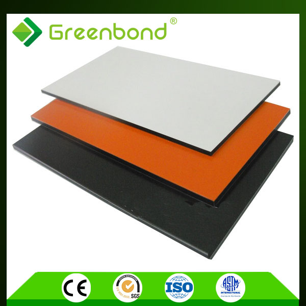 Greenbond curtain wall panel for external wall acp round acp sheet