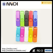 high quality Dual Usb 2.0 Flash Memory Drive For Computer And Smartphone 32gb 64gb Otg Usb Flash Drive