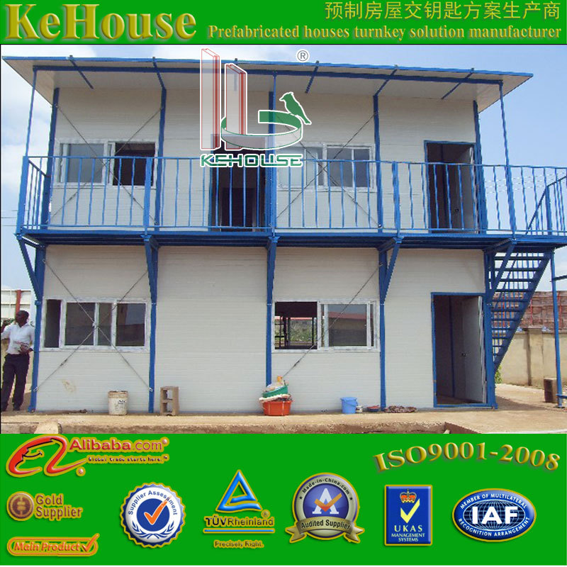 High quality cheap prefabricated home /portable prefabricated house/workers' dorms/office