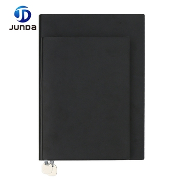 custom size leather graph paper notebook stationary notebook