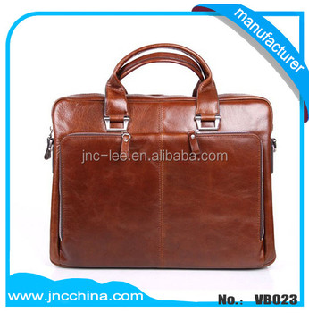 Oil Wax Leather Computer Bag Office Handbag To Men Vb023 Buy