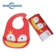 Easy To Carry Adult Baby Plastic Waterproof Fabric Bib For Infant