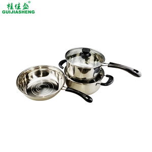 5pcs Stainless steel biryani cookware set cooking pot/pan