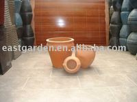 large Clay / terra cotta Flower Pots